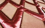 Fil'ing broderie application matelassé cuir