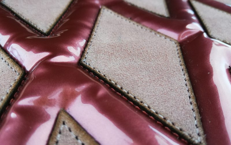 Fil'ing broderie patchwork cuir application